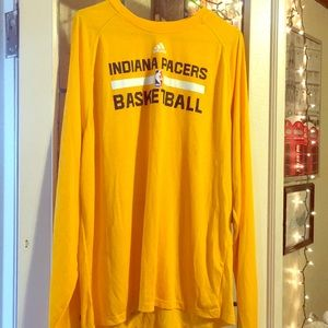 Adidas Indiana Pacers Long Sleeve